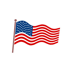 American flag small clipart graphic royalty free stock American Flag Clip Art | Free Download Clip Art | Free Clip Art | on ... graphic royalty free stock