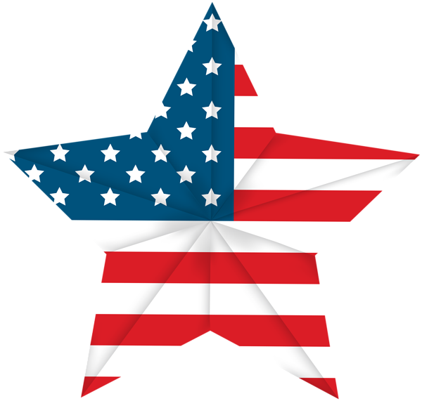American flag star clipart clipart black and white USA Star Flag PNG Clip Art Image   4th of July   Pinterest   Art ... clipart black and white