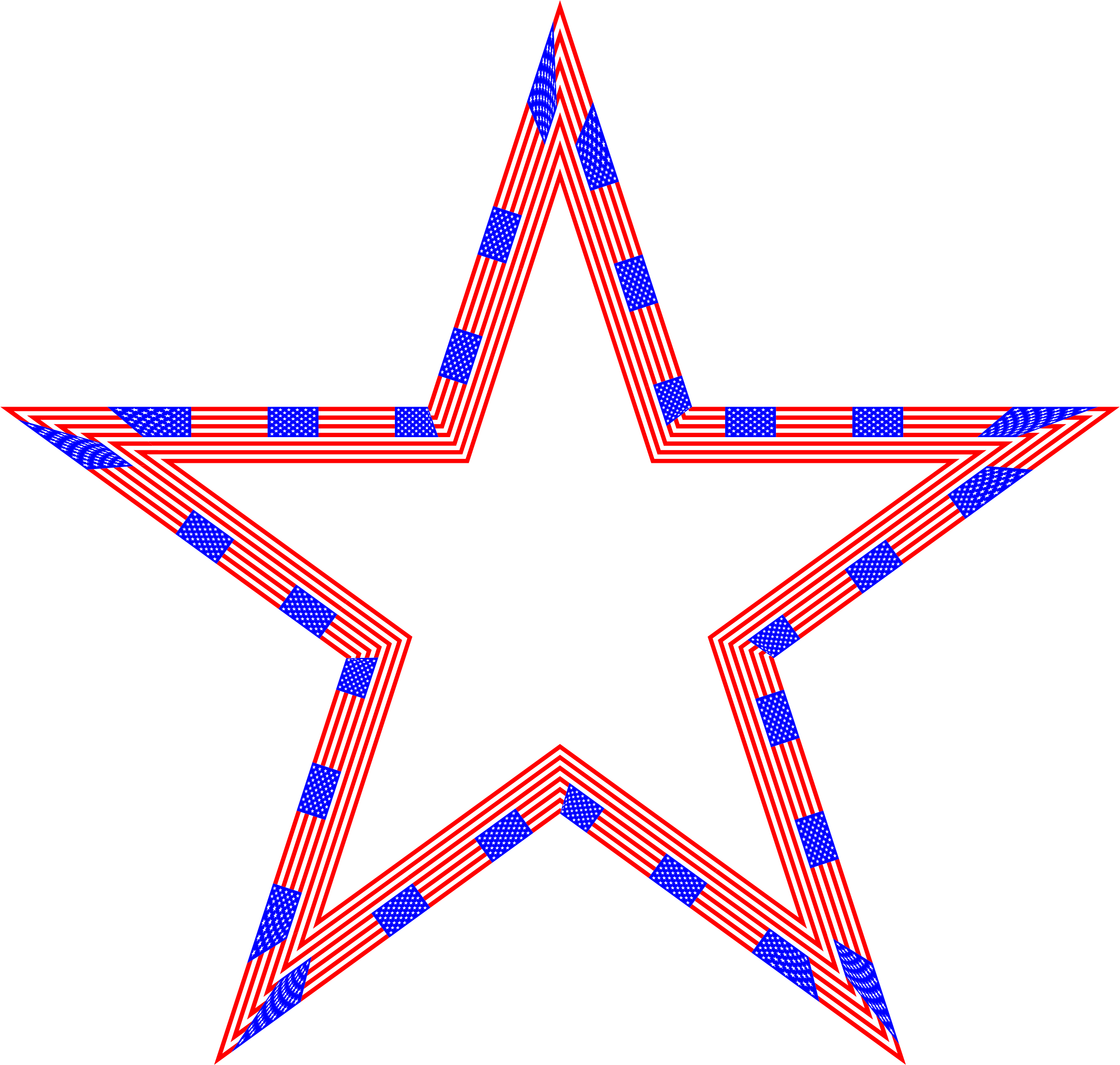 Star flag clipart jpg freeuse Clipart - USA Flag Star jpg freeuse