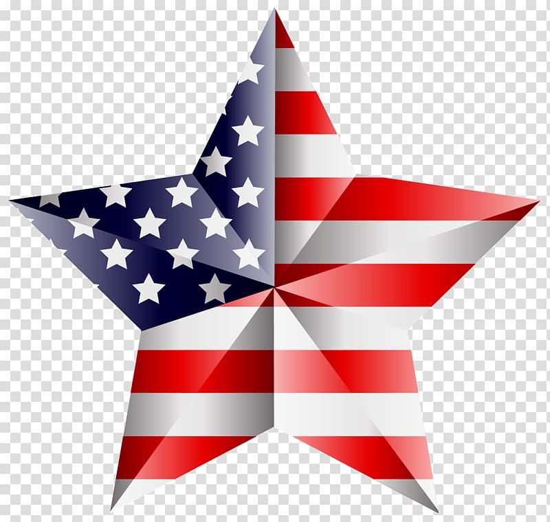 American flag start clipart vector free download Star-shaped flag of U.S.A. decor, United States of America Flag of ... vector free download