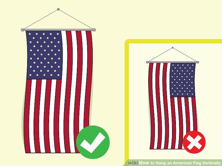 American flag vertical clipart download How to Hang an American Flag Vertically: 7 Steps (with Pictures) download