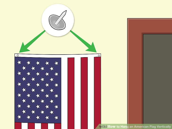American flag vertical clipart free stock How to Hang an American Flag Vertically: 7 Steps (with Pictures) free stock