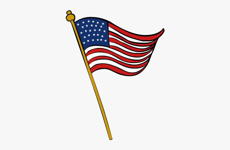 American flag veteran clipart picture transparent library Veterans Day Flag Clip Art - Usa Flag Transparent Background #133458 ... picture transparent library