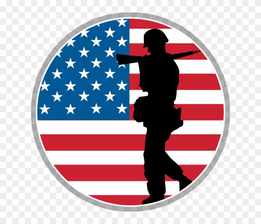 American flag vietnam veteran clipart black and white banner black and white stock Veterans Day Png - American Flag, Transparent Png - 640x640(#1065398 ... banner black and white stock