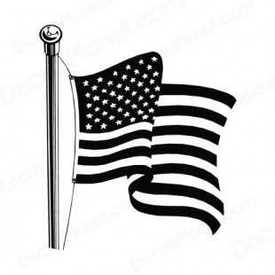 American flag waving black and white clipart banner freeuse stock Free American Flag Clip Art Black And White, Download Free Clip Art ... banner freeuse stock