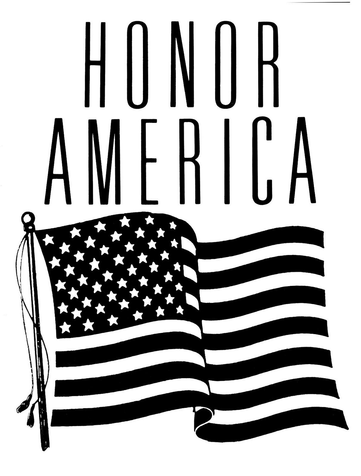 American flag waving black and white clipart royalty free stock Free American Flag Clip Art Black And White, Download Free Clip Art ... royalty free stock