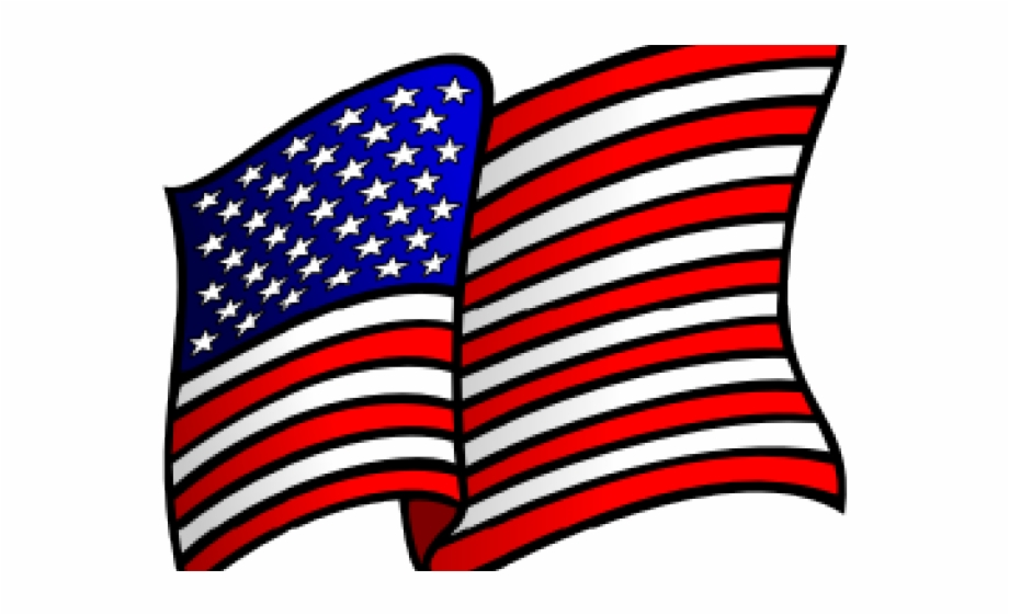 Waving usa flag clipart clip Transparent American Flag Clip Art Free PNG Images & Clipart ... clip
