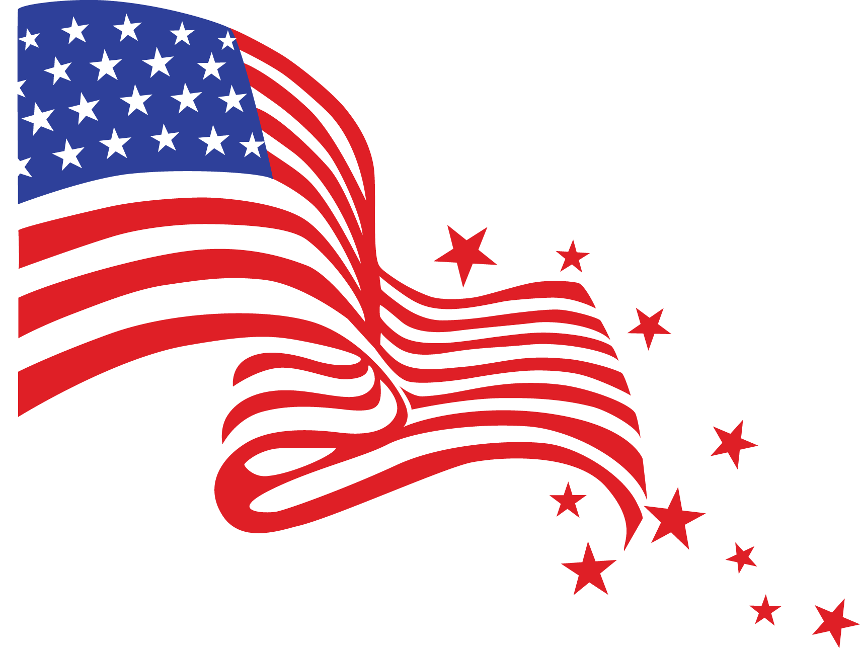 American flag with fireworks clipart picture freeuse stock American flag and fireworks clipart » Clipart Portal picture freeuse stock