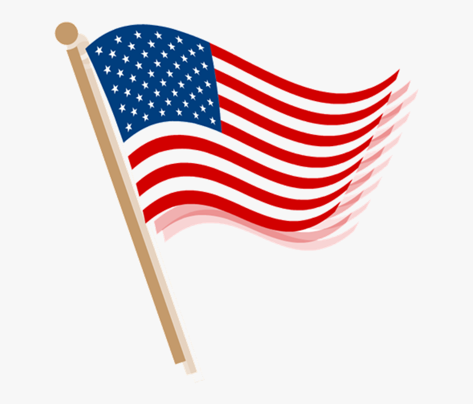 American transparent clipart png transparent stock Amazing 4th July Fireworks Clipart Greetings Image - American Flag ... png transparent stock