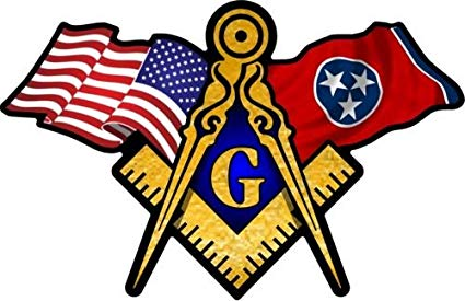 American flag with masonic clipart clip royalty free ProSticker 077 (One) 3\