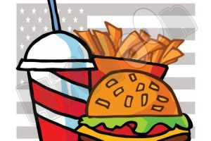 American food clipart graphic black and white stock American food clipart 1 » Clipart Portal graphic black and white stock