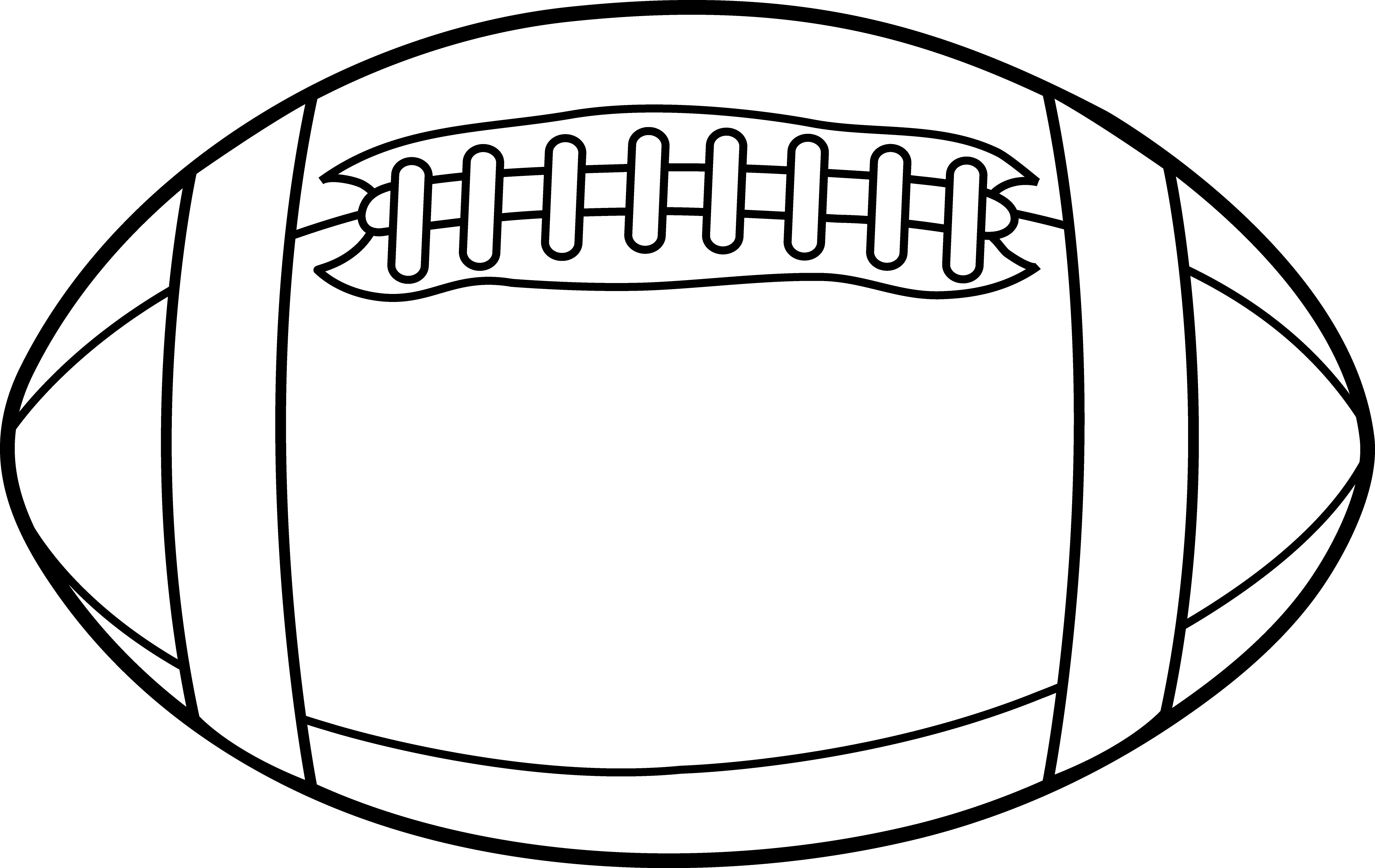 American football ball clipart clipart library download American Football Black And White Clipart clipart library download