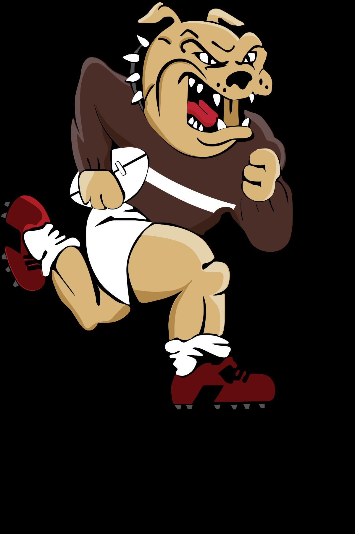 American football border clipart vector stock Border Bulldogs - Wikipedia vector stock