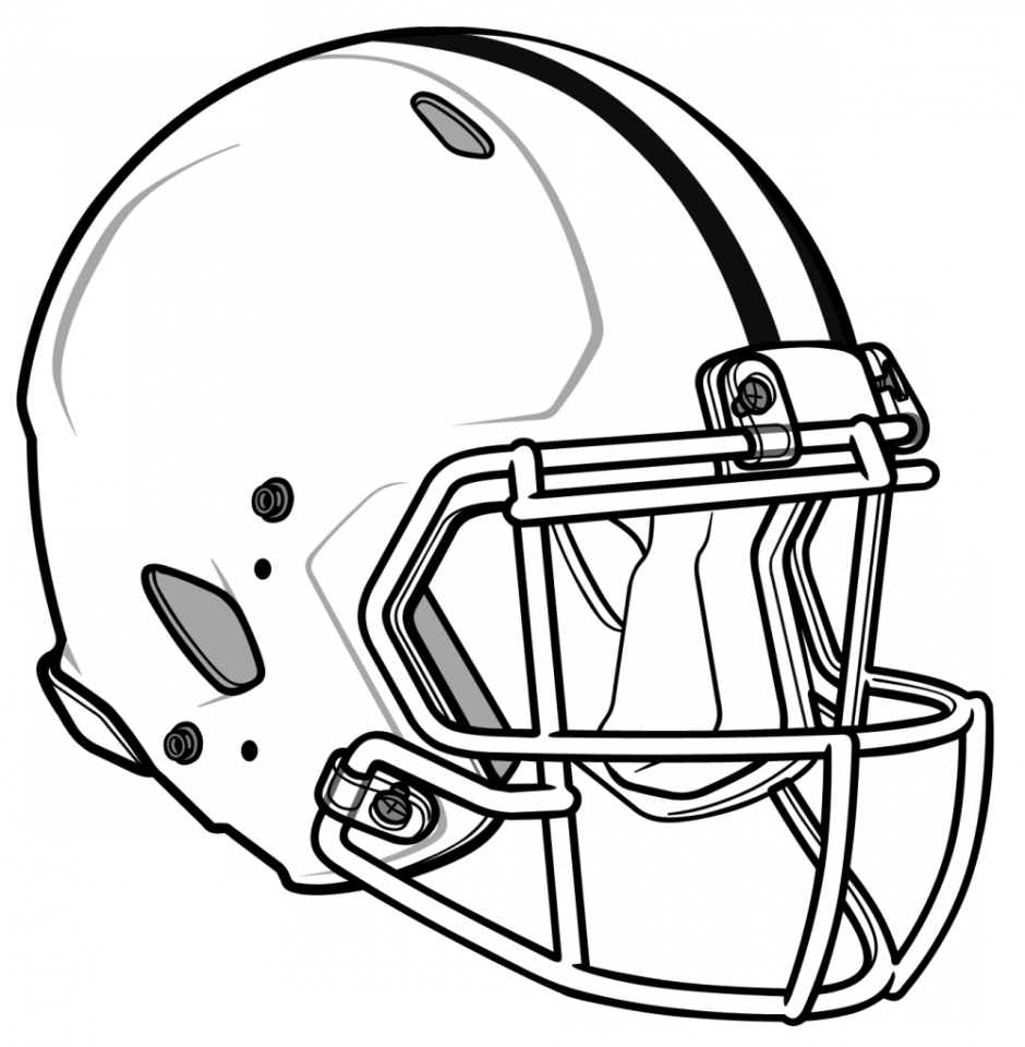 Football helmets clipart free jpg Free-Football-Coloring-Pages-free-printable-coloring-pages-of ... jpg
