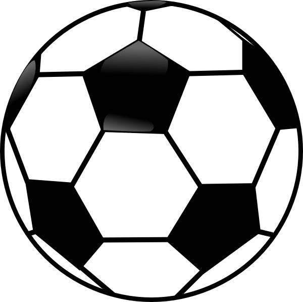 American black and white. Football images clipart
