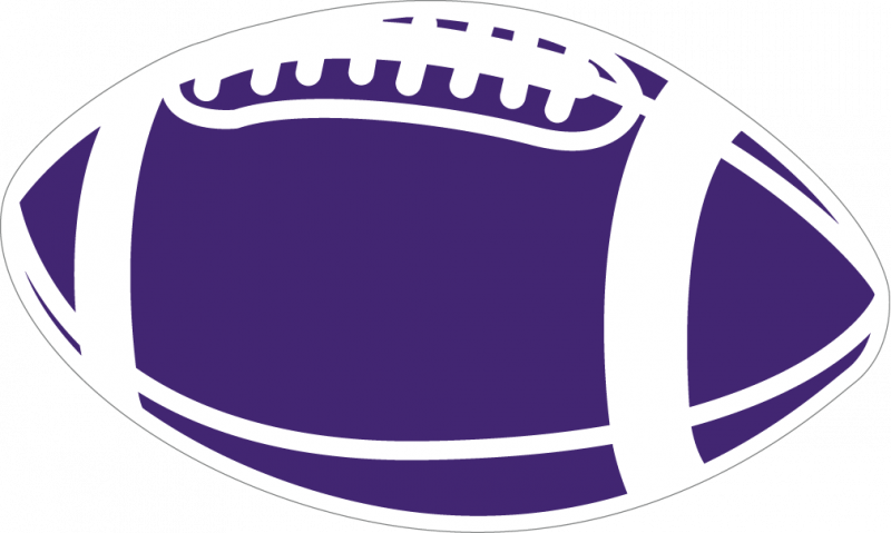 American football clipart free banner library library Purple Football Clipart banner library library