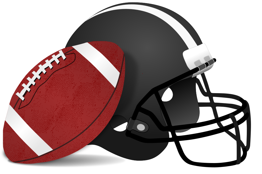 American football equipment clipart png royalty free OnlineLabels Clip Art - American Football And Helmet png royalty free