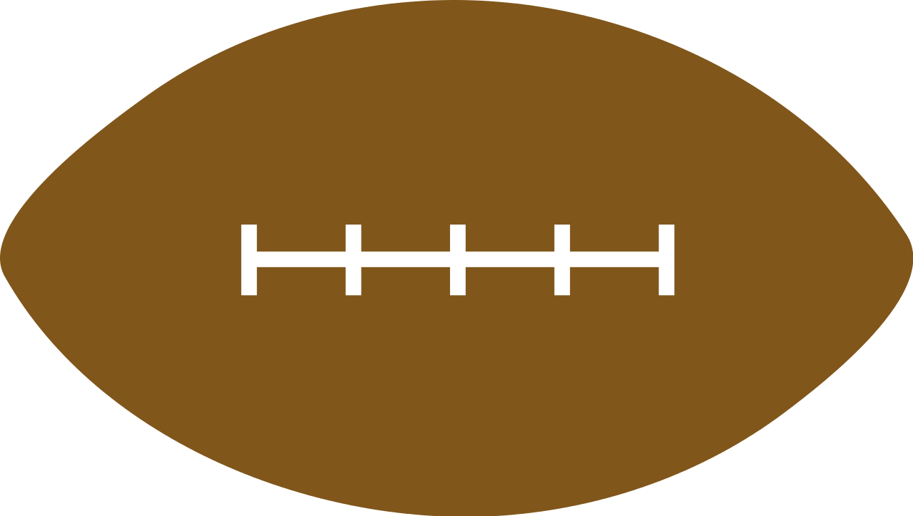 American football goal clipart svg freeuse File:AmericanFootball.svg - Wikipedia svg freeuse