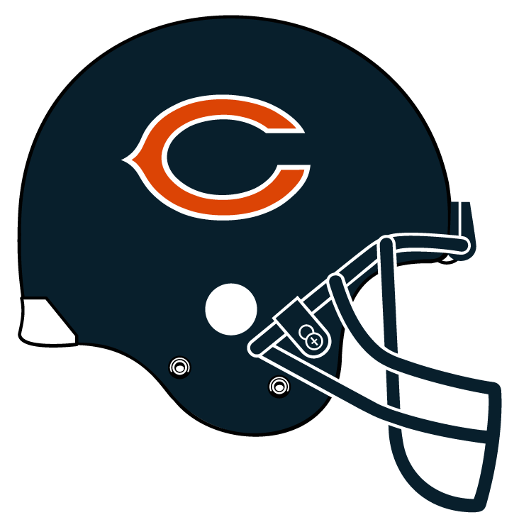 Nfl football helmet clipart image freeuse Chicago Bears Logo Png - Cliparts.co | Father , Grandfather, man ... image freeuse