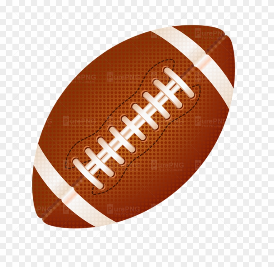 Clipart american football clip Rugby Ball Clipart Fotball - Transparent Background American ... clip