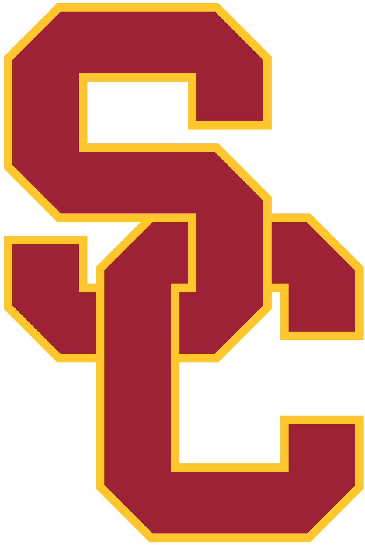 Usc football clipart banner transparent library USC Trojans - Wikipedia banner transparent library