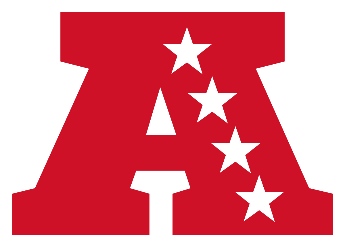 American football team clipart svg library library American Football Conference - Wikipedia svg library library