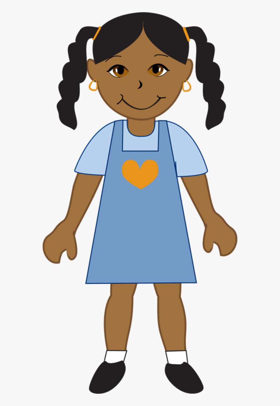 American girl clipart free svg transparent download Clip Art African American Girl #584936 - Free Cliparts on ClipartWiki svg transparent download
