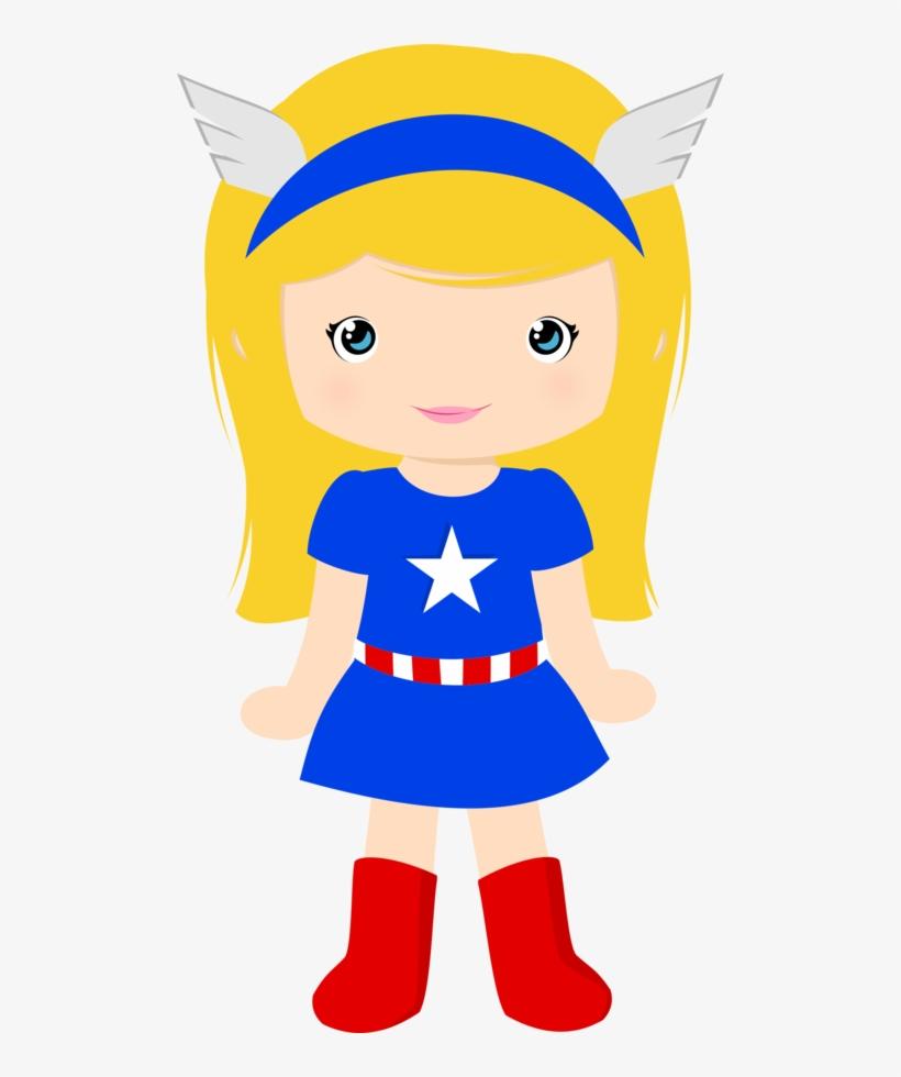 American girl clipart free clip art stock Super Girl Clipart Party - Captain America Girl Clipart - Free ... clip art stock