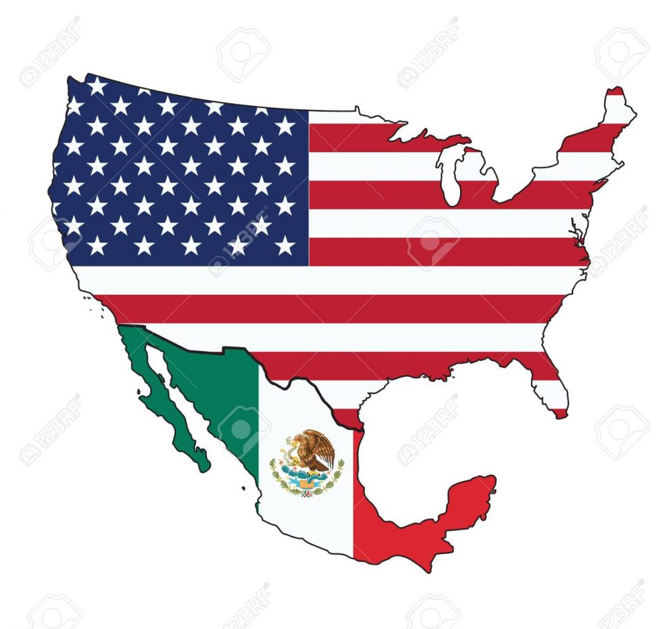 American gis clipart jpg transparent download US Map : Map Usa And Mexico Vector Royalty Cliparts Vectors Stock ... jpg transparent download