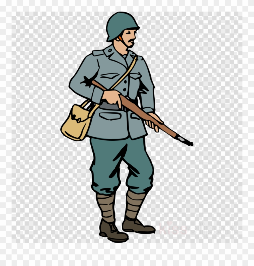 American gis clipart vector black and white Ww2 Soldier Drawing | Free download best Ww2 Soldier Drawing on ... vector black and white