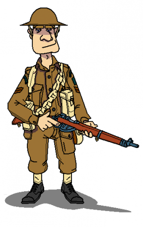 World war 2 clipart soldiers svg free library Free Wwi Soldier Cliparts, Download Free Clip Art, Free Clip Art on ... svg free library