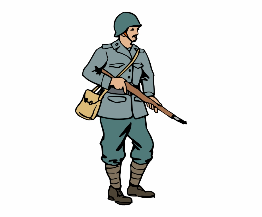 Us soldier clipart vector freeuse library American Soldier Clip Art - World War 2 Soldiers Cartoon Free PNG ... vector freeuse library