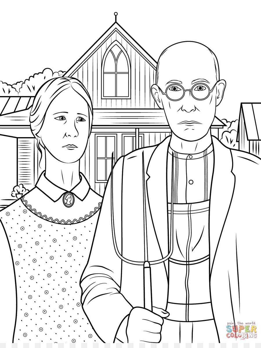 American gothic clipart graphic freeuse American gothic clipart 7 » Clipart Station graphic freeuse