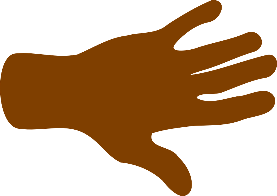 American hand clipart vector free stock African American Hand Clipart , Transparent Cartoon - Jing.fm vector free stock