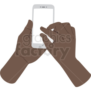 American hand clipart clip transparent african american hand pinching to zoom on phone vector clipart no  background . Royalty-free clipart # 409438 clip transparent