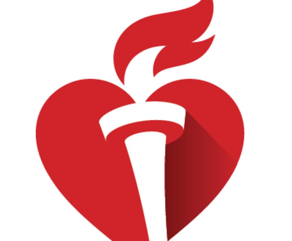 American heart association logo clipart graphic transparent stock American Heart Association graphic transparent stock