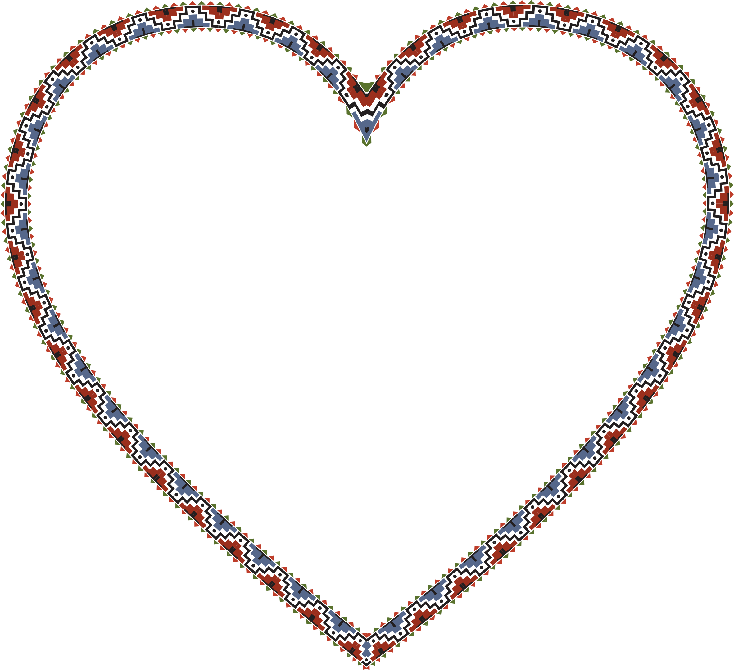 American heart clipart image freeuse download Clipart - Native American Heart image freeuse download