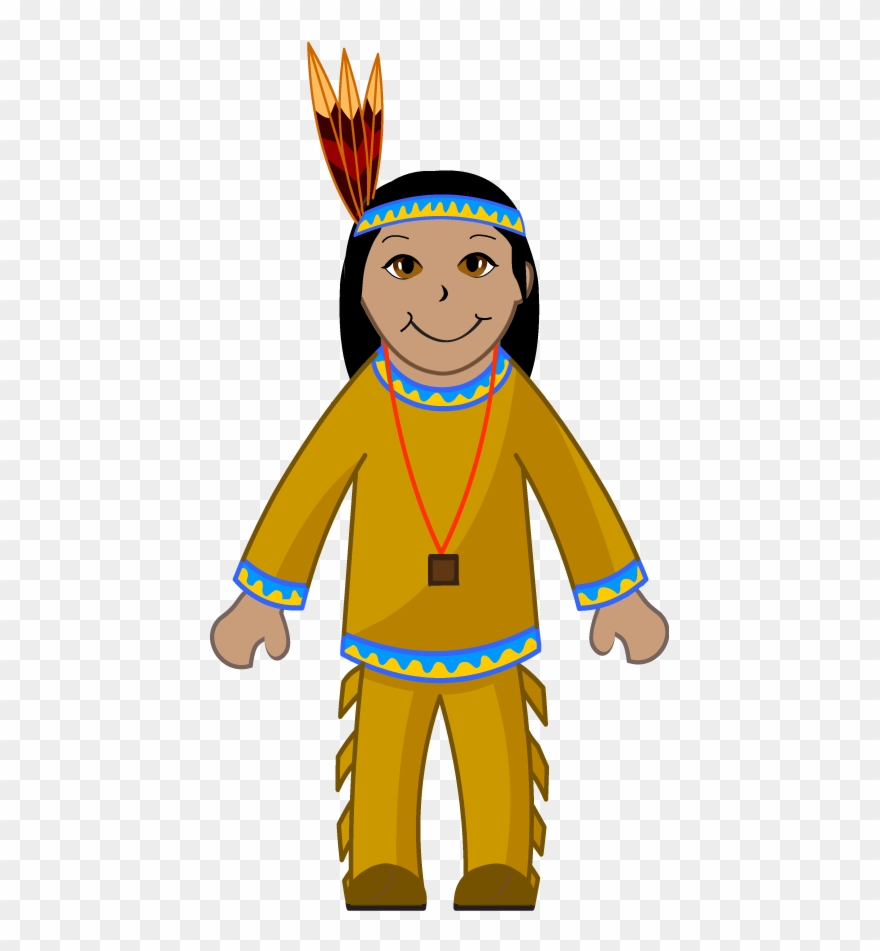 Indian clipart images svg library download Clip Art Of An American Indian - Indian Clipart - Png Download ... svg library download