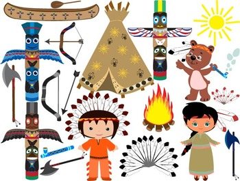Clipart native indian svg transparent library Native American, indian,Clip Art - PNG,EPS-Digital Clip Art Graphics, -053- svg transparent library