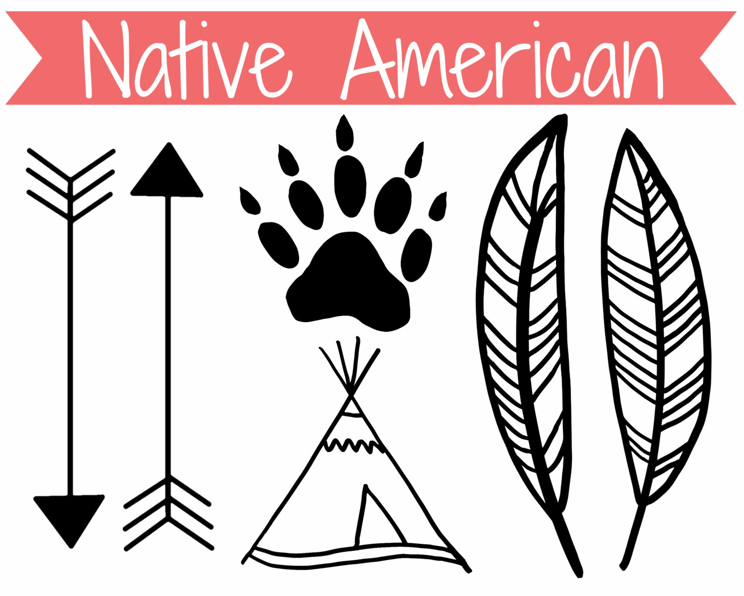 American indian clipart designs png free library American indian designs clip art - Clip Art Library png free library