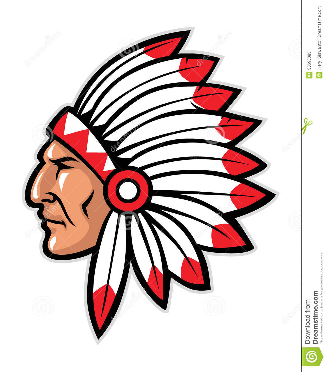 Indian chief head clipart picture freeuse library 7+ Indian Headdress Clipart | ClipartLook picture freeuse library