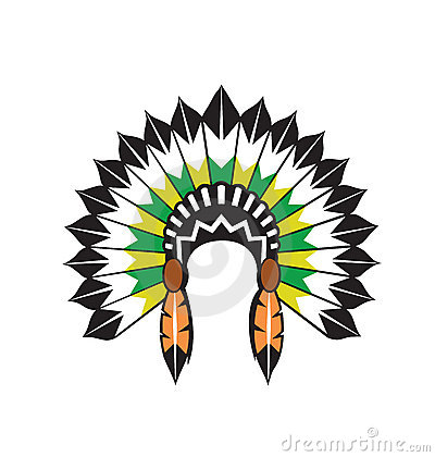American indian headdress clipart graphic black and white 91+ Indian Headdress Clipart | ClipartLook graphic black and white