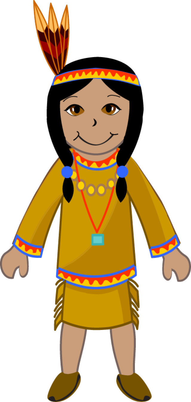 Indian face clipart png transparent library Native American Girl Clipart | Free download best Native American ... png transparent library
