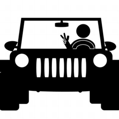 American jeepers clipart picture black and white stock Jeep Wave on Twitter: \