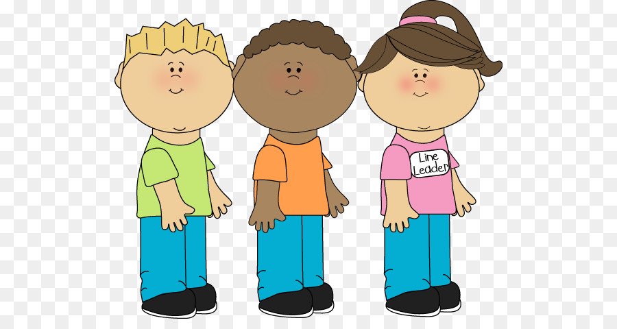Children in line clipart png jpg free School Child png download - 566*465 - Free Transparent Leadership ... jpg free