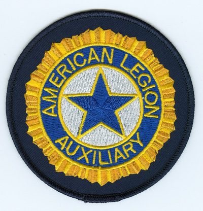 American legion auxiliary clipart clip art library download Embroidered Auxiliary Emblem-American Legion Flag & Emblem clip art library download