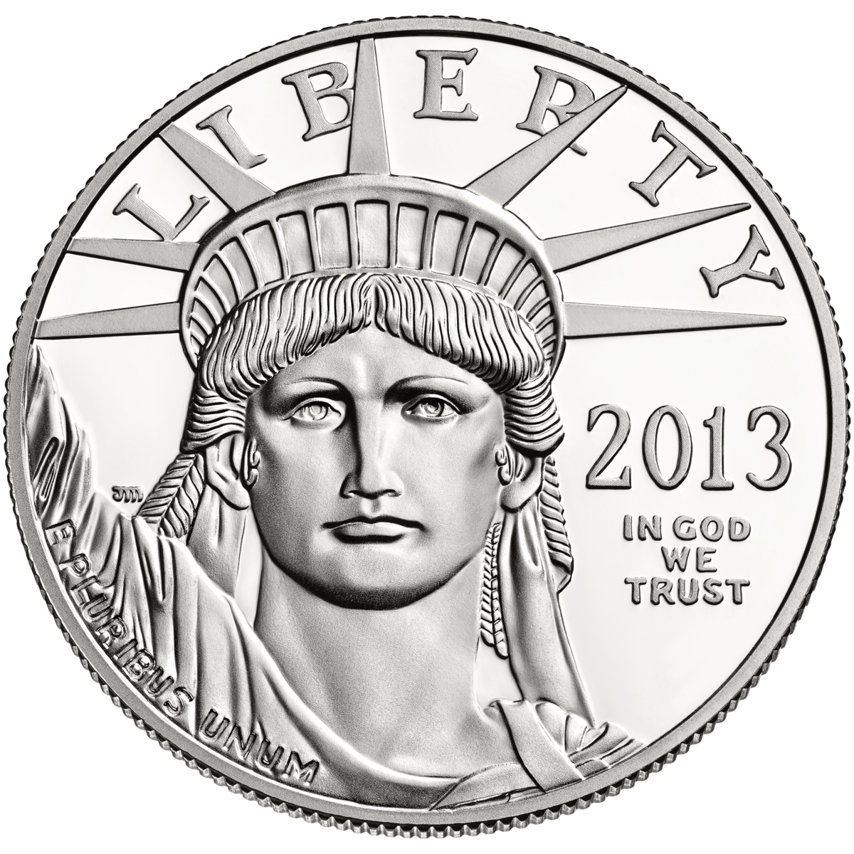 American money coins clipart picture black and white stock American Platinum Eagle - Wikipedia picture black and white stock