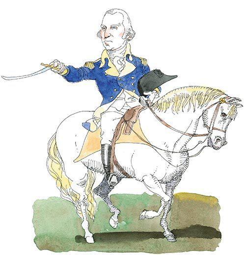 American revolution letting soldiers in some else s house clipart transparent Myths of the American Revolution | History | Smithsonian transparent