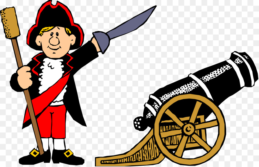 American revolution weapons clipart clip royalty free Independence Day Cartoon png download - 2600*1675 - Free Transparent ... clip royalty free