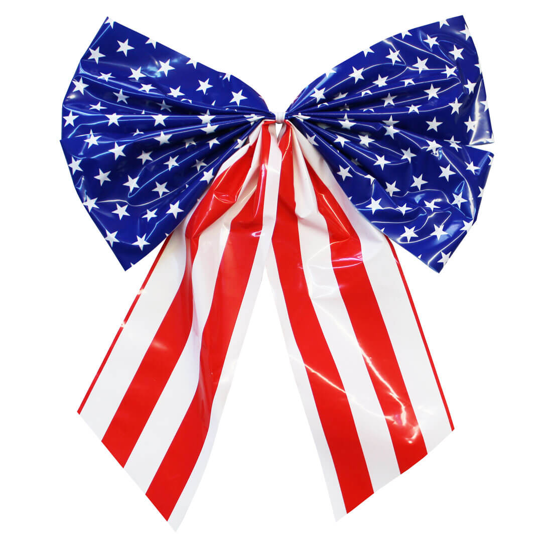 American ribbon bow banner clipart image royalty free library 4-Loop Flag Bow image royalty free library